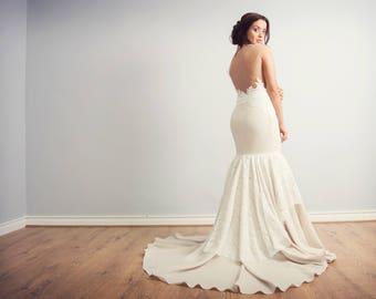Wedding Dress/ Bridal Gown/ Hand made- Selena dress