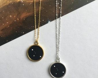 CANCER NECKLACE. gift for her / cancer constellation / zodiac sign necklace / custom necklace / cancer pendant / cancer star sign necklace