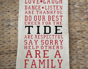 Alabama kitchen/bar towel