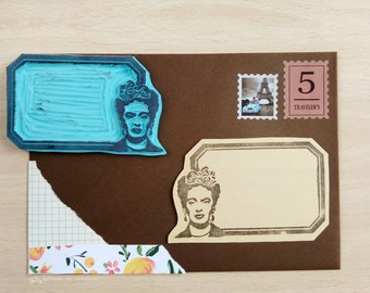 Frida Label Stamp
