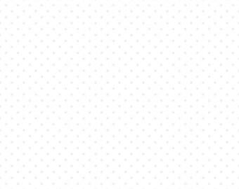 1 Yard- White Swiss Dot by Riley Blake Designs- Tone on Tone White 790-150