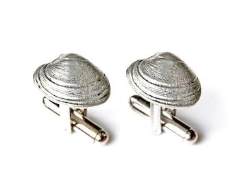 Clam Shell Cufflinks