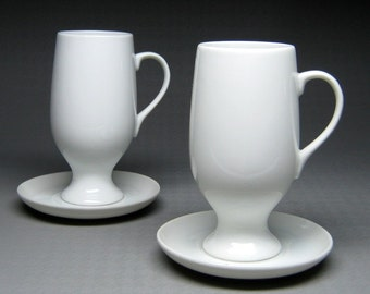 vintage cup and saucer pair designed by LAGARDO TACKETT for SCHMID