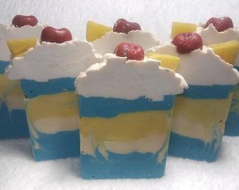 Blue Hawaiian Handmade Artisan Soap