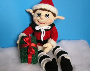 Pdf Crochet Pattern NYM THE ELF (English only)