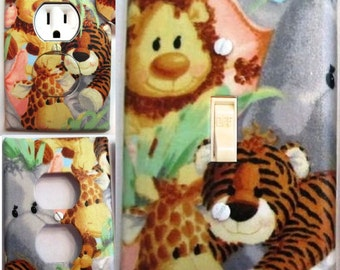 Jungle Babies Light Switch and Outlet Covers