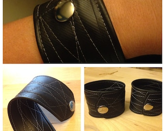 Upcycled Rubber Cuff