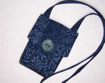 Denim Blue Tasche, Tasche Umhängetaschen, kleine gesteppte Tasche, Reißverschluss-Tasche-Tasche