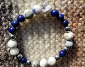 Sodalite and Lapis Lazuli