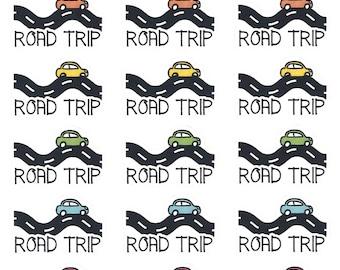 Road Trip || Planner Stickers