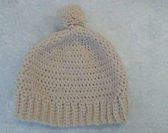 Toddler Hat - Handmade, Crochet, Beanie, Winter Hat