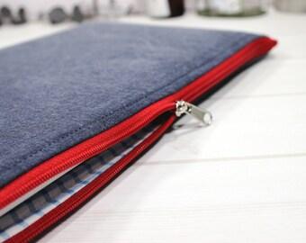 iPad sleeve, zippered tablet case, iPad Air sleeve, 9 inch tablet case, Galaxy Tab s3 sleeve, Galaxy Tab case, iPad Pro case, tablet case