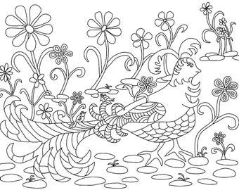 d.mae designs morning bird