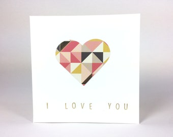 I Love You - Valentine's Day Card