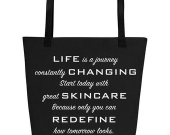 Life is a Journey Beach Bag