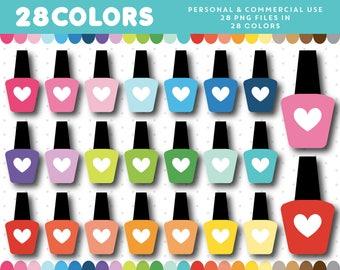 Nail polish clipart, Nail clipart, Nail color clipart, Nail bottle clipart, Clip art nail polish, Nailpolish clip art, Nail icon, CL-1607