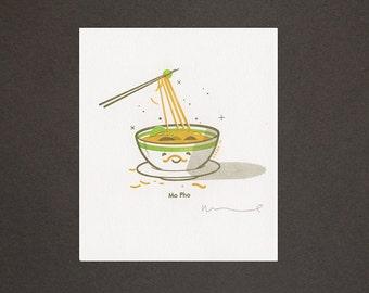 Mo Pho Gocco Print