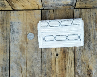 Bridal Clutch Wedding clutch bridal purse wedding purse Brides Maid Clutch beaded clutch Winter Wedding Bridesmaids clutch white clutch