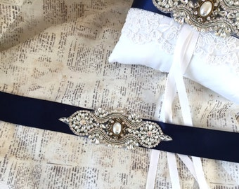 Bridesmaids Sash, Navy Bridal Belt, Navy Wedding Sash, Navy Wedding Belt, Navy Bridesmaids Sash, Flower Girl Sash, Flower Girl Belt