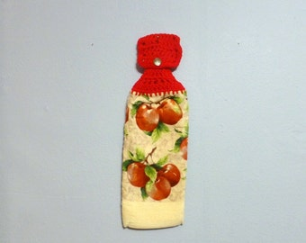 Hanging Kitchen Towel Apples