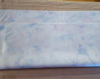 Half yard of sky color cotton fabric