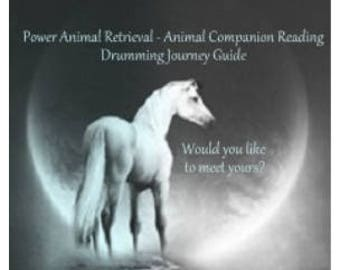 Power Animal Reading - Spirit Guide - Animal Companion Reading - A Guardian for your mp3 Drumming Journeys