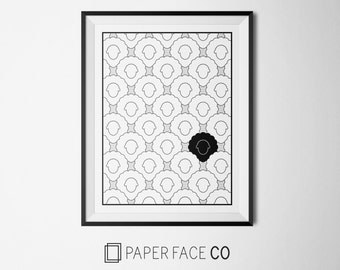 Black Sheep Print