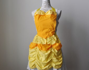 Belle Beauty and the Beast Dress up Apron and Free Gift!