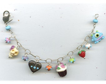 Super Charm Bracelet...a bit of it all.