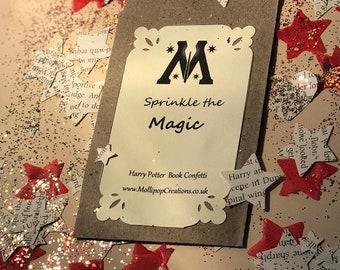 Harry Potter Book Confetti