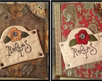 Recipes Journal - Pattern