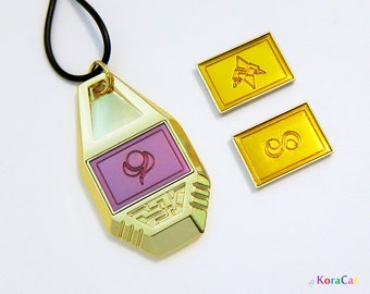 Digimon Tag - 1 Removable Crest (Single) Kindness, Miracles, Destiny