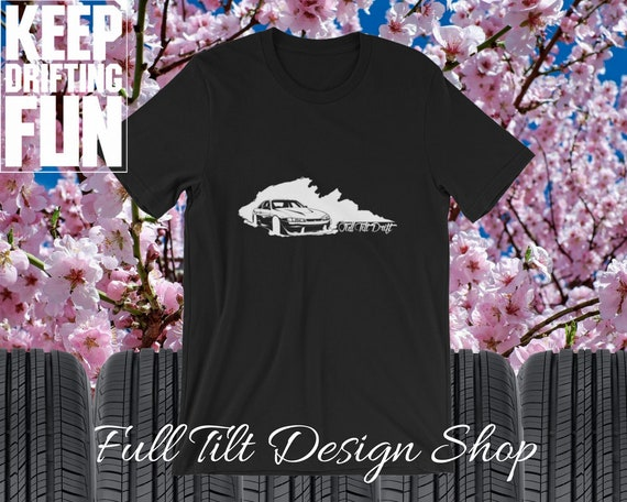 Full Tilt Drift S14 Kouki Silvia 240sx 180sx Nissan Drifting Short-Sleeve Hoonigan Unisex SR20DET 200sx T-Shirt