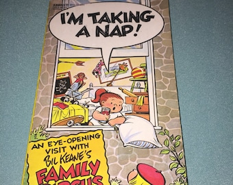 1974 - I'm Taking A Nap! - The Family Circus By Bil Keane - Paperback