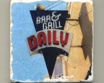Daily Bar and Grille in Lincoln Square -  Original Coaster