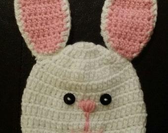 Bunny Rabbit Crochet Hat