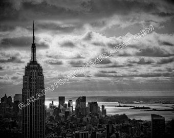 Empire State - NY Harbor 8x10 Photo