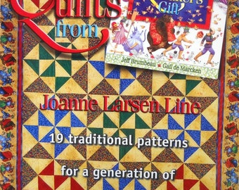 More Quilts from The Quilt Makers Gift Book, by Joanne Larsen Line Quilting Patterns