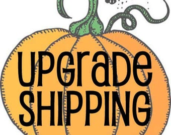 Upgrade Shipping to Priority Mail
