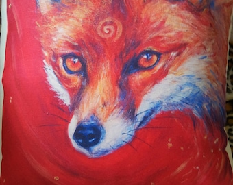 Fox Song Cushion