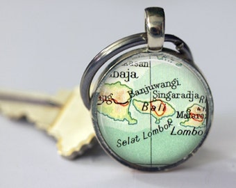 Bali, Malaysia Anniversary Gift, Custom Keychains, Photo Gift Mom, boyfriend Keychain, brother gift, bronze keychain