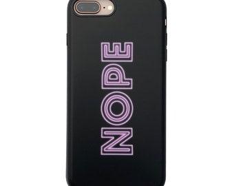 NOPE Case for iPhone 8 Plus / 7 Plus - Elemental Cases