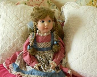 "Lenox 22"" Porcelain Doll - 1991"