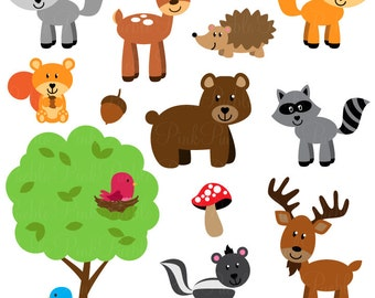 zoo animal clip art zoo animal clipart safari jungle animal rh etsy com jungle animals clipart black and white jungle animals clipart background