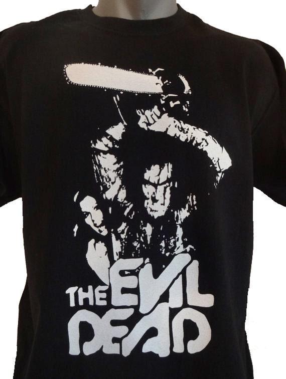 Evil Dead T-SHIRT Unisex Adults Sam Raimi The Evil Dead hvFe6L