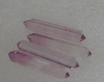 4 Fluorite Crystals Double Terminated 30mm