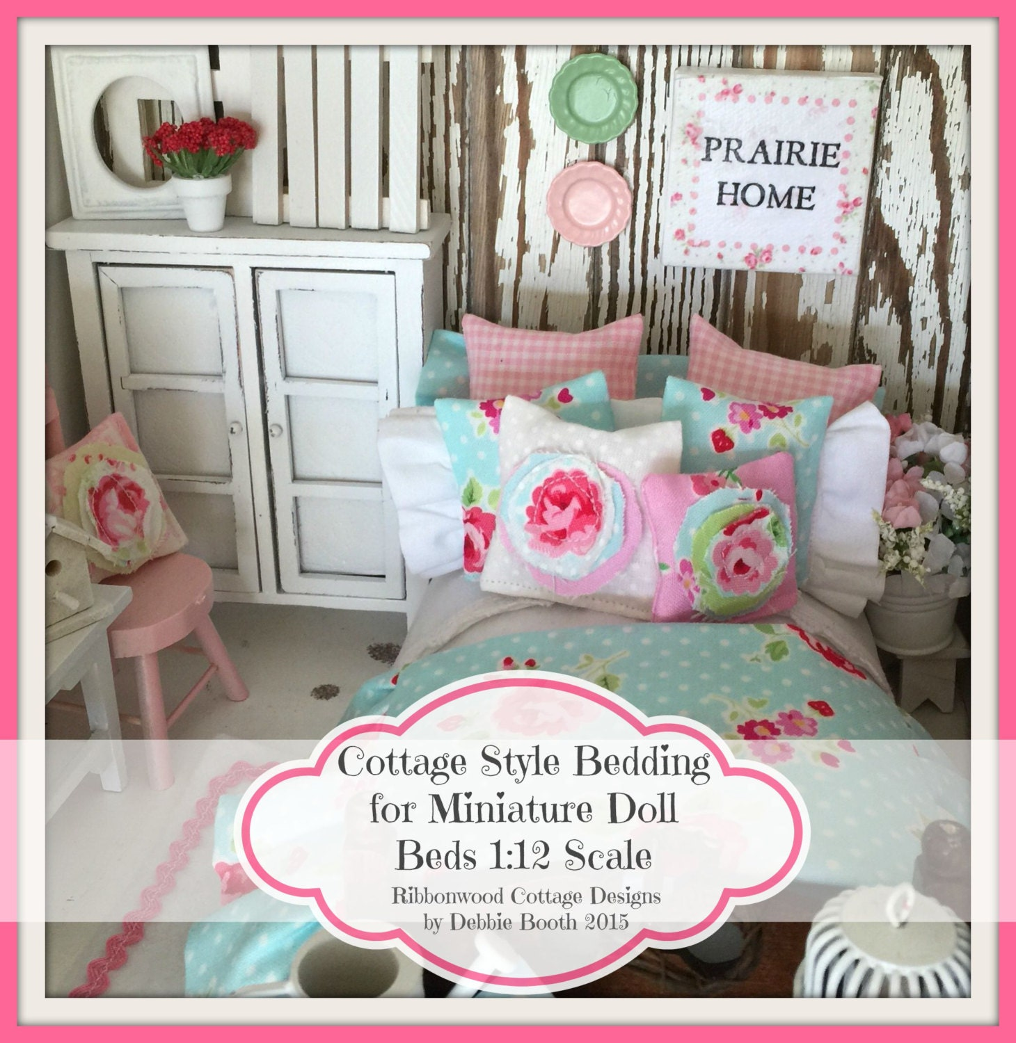 quilts beds doxies miniature dahlias tiny bed to doll diy dolls from and