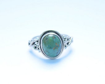 TURQUOISE RING, Turquoise Silver ring, Sterling silver ring, Gemstone Ring, Turquoise Stone  Silver Ring, 925 sterling silver   32