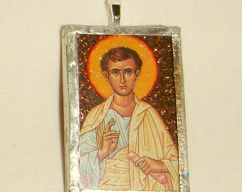 St Thomas the Apostle Pendant inv1688