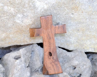 Wood Cross; Rustic; Wood Wall Cross; Mesquite; Communion; Baptism; Sympathy; Wedding Gift; Graduation; Confirmation;Free Ground Shipping USA
